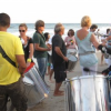 Monday Night Drum Circle at The Beach
