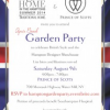 The British Are Coming – In Style – Garden Party August 9th