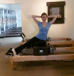 Uptown Pilates Side Sit Up