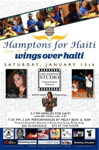 wings over haiti poster