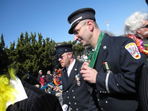 Montauk's Finest at the St. Patrick's Day Pararde