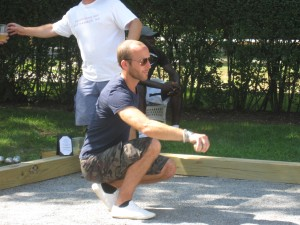 Petanque crouching tiger