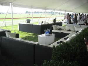 Blue Star Jets VIP Tent
