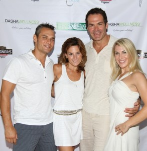 Dasha Wellness owners Shannon Pollack and Dr. Darren Pollack , Dr. Steve Salvatore, Dr. Emily Splichal