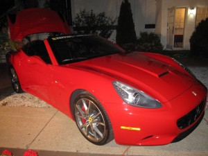 jfi jets party ferrari