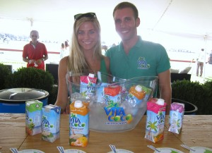 Amanda and Robert of Vita Coco
