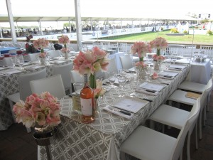 Wolffer Vineyard VIP Table