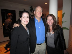 Doron Weber with Carolyn Kras, Laura Oaksmith