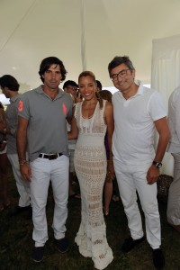 Nacho Figueras, Michael Michele and Marco Mattiacci Attend The Ferrari Experience at Opening Day of Bridgehampton Polo