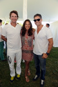Nick Manifold, Kelly Klein and Tony Melillo Attend The Ferrari Experience at Opening Day of Bridgehampton Polo