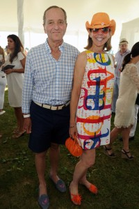 Peter Gregory and Jamee Gregory Attend The Ferrari Experience at Opening Day of Bridgehampton Polo
