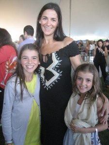 The lovely Hanson family - Deana Hanson with daughters Brynn and Leah