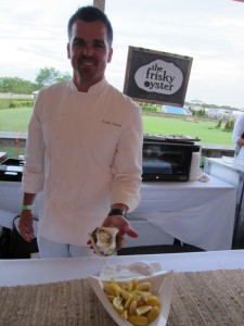 Chef Robert Beaver of The Frisky Oyster