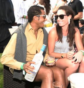 Bridgehampton Polo 2012  grey goose vodka