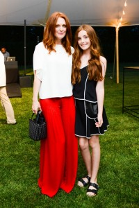 Julianne Moore with daughter Liv Freundlich