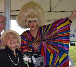 Edie Windsor and DJ Lady Bunny